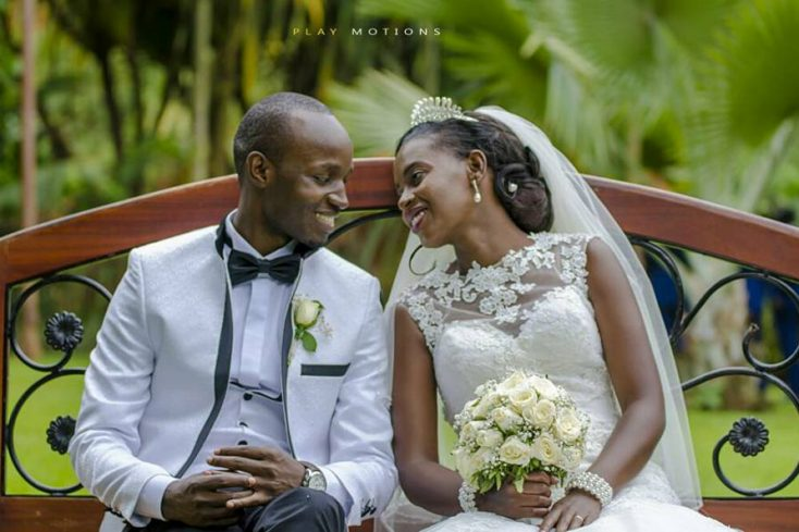 Dastan and Suzan exchange vows at St. Andrew's Church
