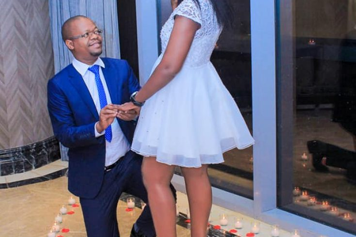 FUFA Boss Eng Moses Magogo Proposes To Dellah, She Said 'Yes'