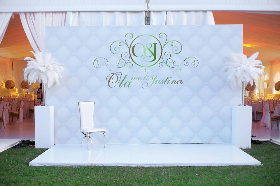 Ola weds Justina- decor by ICandy Ug