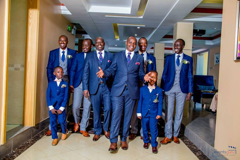 Alex and the groomsmen