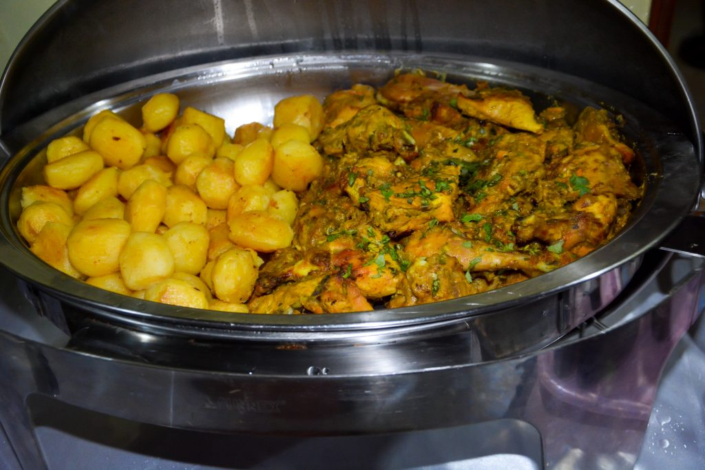Food prepared by Adonai Guesthouse