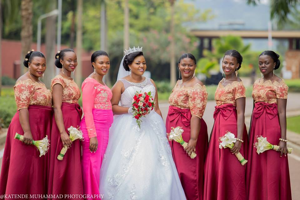 Ameria and her bridesmaids