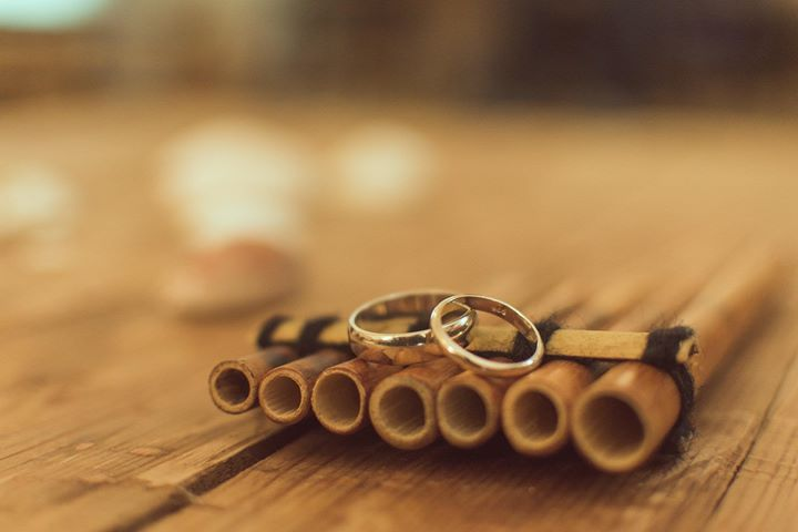 Jeduthun and Doreen's wedding rings