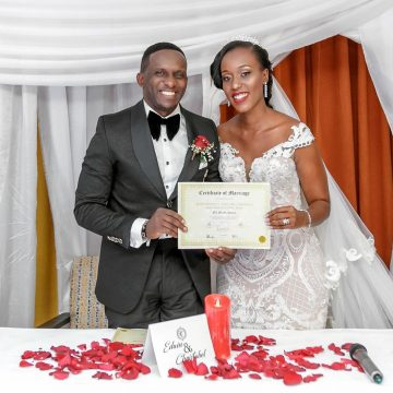 Wedding Album: Christabel and Edwin's Most Exclusive Wedding Photos