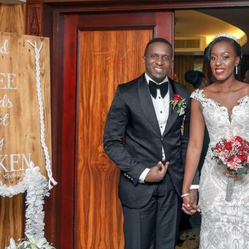 Edwin weds Christabel via mikolo.com